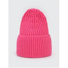 Зимняя шапка цвет розовый неон, ТМ Артель