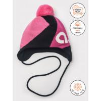Зимняя шапка цвет розовый/фуксия, ТМ Артель