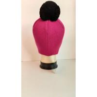 Зимняя шапка цветa фуксия, ТМ Артель