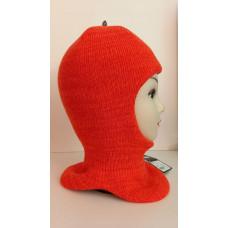 Зимний шлем-шапка оранжевый/неон Артель