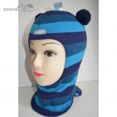 Зимний шлем-шапка  Beezy  Мишка 100% шерсть