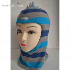 Зимний шлем-шапка  Beezy  Дино 100% шерсть