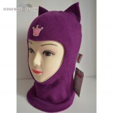 Зимний шлем-шапка  Beezy  Кошка 100% шерсть