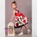 """Нарядное платье """"Розы"""" для девочки"""