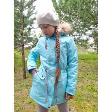 """Зимняя мембранная куртка для девочки """"Мария"""" Uki Kids"""
