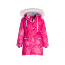 Зимнее мембранное пальто для девочки «Аделина»
