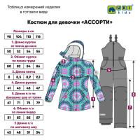 Зимний мембранный костюм  Ассорти, Uki kids