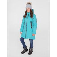 """Зимнее мембранное пальто для девочки """"Леа"""", Uki kids"""