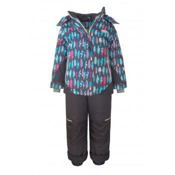 Зимний мембранный костюм для девочки «Дюймовочка» Юки Кидс