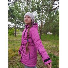 """Зимняя мембранная куртка для девочки """"Инесса"""" Uki Kids"""