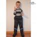 Демисезонные мембранные брюки Киндом, цвет серый