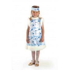 Новогодний  карнавальный костюм Снежинка