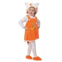 Новогодний  карнавальный костюм Лисичка малышка