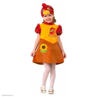 Новогодний  карнавальный костюм Курочка Ряба