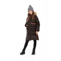 """Зимнее мембранное пальто для девочки """"Лючия"""""""