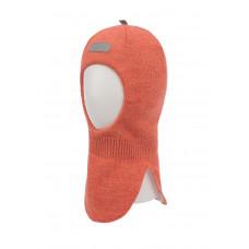 """Зимний шлем-шапка """"Бесс"""" Oldos коралловый"""