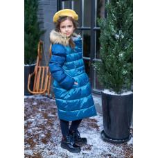 Зимнее пальто для девочки Мадиша Oldos