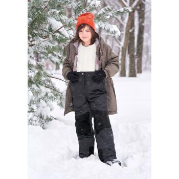 Зимний мембранный полукомбинезон для мальчика и девочки