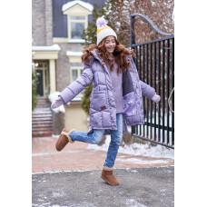 """Зимнее пальто для девочки """"Кэти"""" Oldos"""