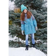 """Зимняя куртка для девочки """"Алдона"""" Oldos Activ"""