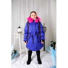 """Зимнее мембранное пальто для девочки """"Кира"""""""