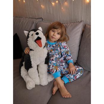 Пижама - домашний костюм (кулирка) Улица