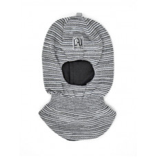 Шлем  демисезонный. Серый меланж Артель ТМ