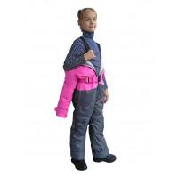 Зимний мембранный комбинезон цвет ярко-розовый SO Collection