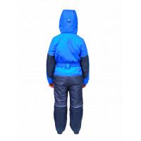 Зимний мембранный комбинезон цвет синий SO Collection