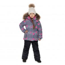 Зимний мембранный костюм  FLOWERS/ WINTER, Stella Kids
