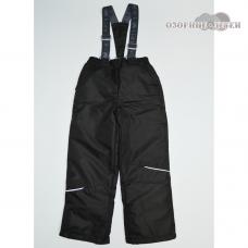"""Демисезонные брюки """"Непоседы"""" утеплитель 80 гр., цвет черный"""