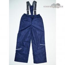 """Демисезонные брюки """"Непоседы"""" утеплитель 100 гр., цвет т.синий"""