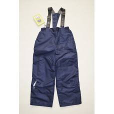 """Демисезонные брюки на флисе """"Исследователи """" цвет синий"""