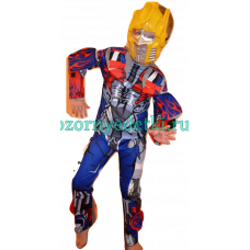 Новогодний костюм робота-трансформера Оптимуса Прайма