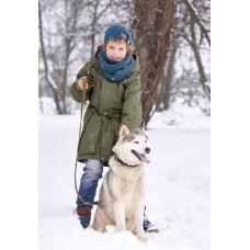 """Зимняя мембранная парка для мальчика """"Гордон"""""""