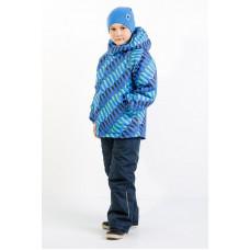 """Мембранный демисезонный комплект """"Инерция"""" Super Gift цвет синий+салатовый"""