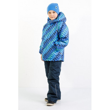 """Мембранный демисезонный комплект """"Инерция"""" Super Gift цвет синий"""