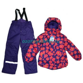 """Мембранный комплект """"Магнолия""""  Super Gift, цвет фиолет"""