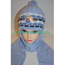 Шапка и шарфик комплект (зима) Польша