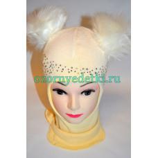 Шлем - шапка TUTU 100%хлопок
